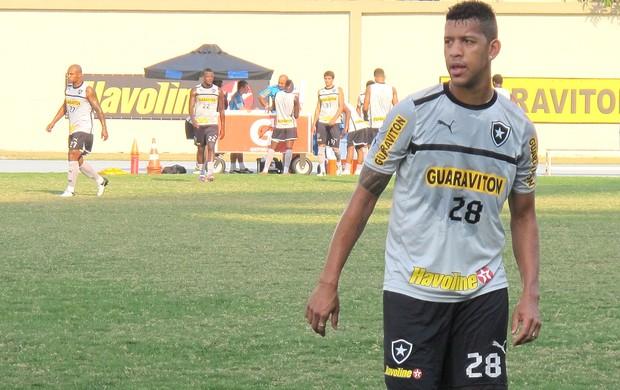 Antônio Carlos, Treino do Botafogo (Foto: Thales Soares / Globoesporte.com)