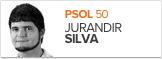 Jurandir Silva, PSOL, candidato de Pelotas (Foto: Arte G1)