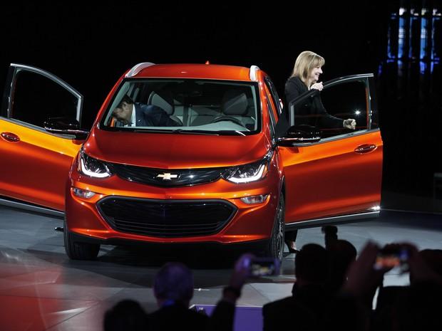 Chevrolet Bolt EV (Foto: AFP PHOTO/GEOFF ROBINS)