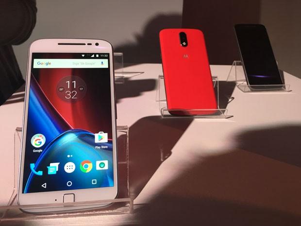 Moto G4 Plus, aparelho top da quarta geração da família Moto G. (Foto: G1)