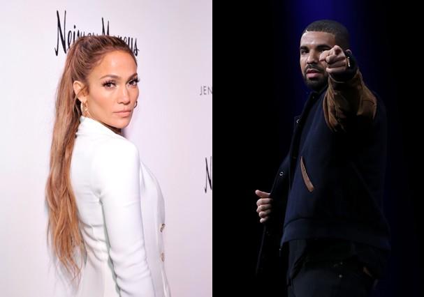 Jennifer Lopez e Drake: romance chega ao fim (Foto: Getty Images)