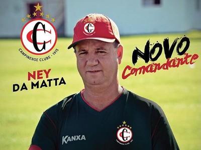 Ney da Matta, Campinense (Foto: Divulgação / Campinense)