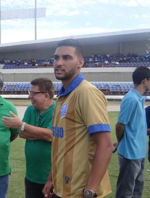 Edílson estava no Juventude, disputando a Série C (Foto: Augusto Oliveira / GloboEsporte.com)