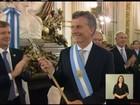 Após avião ficar retido no ar, Dilma perde posse de Macri no Congresso