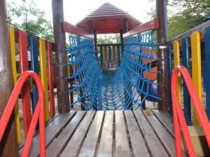 Novo Playground do Lago Municipal de Araras (Foto: Mário Marcos/Secom)