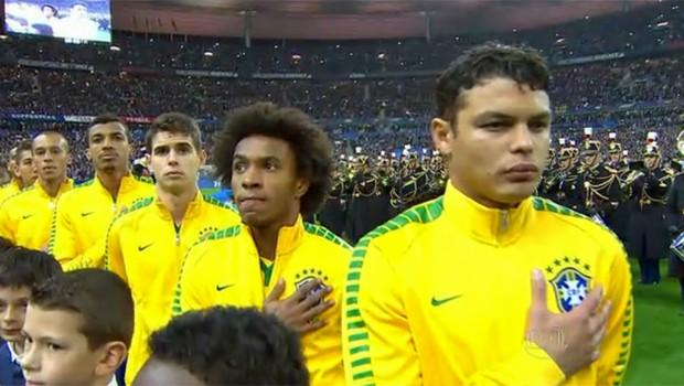 A Seleção Brasileira volta a jogar na tarde do dia 26, em amistoso contra a França (Foto: Globo)