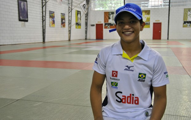Sarah Menezes treino Brasil (Foto: João Gabriel Rodrigues)