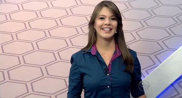 Tâmara Oliveira apresenta o GE local (Foto: Divulgação/TV Sergipe)