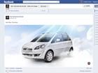 Fiat posta foto do Idea 'no céu' em referência à escolha do Papa