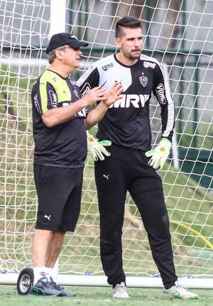 Atlético-MG; Levir Culpi; Victor (Foto: Bruno Cantini/CAM)