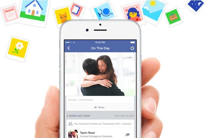 """Recurso ajuda o usuário a """"lembrar"""" seu passado na rede social (Foto: Reprodução/Facebook Newsroom) (Foto: Recurso ajuda o usuário a """"lembrar"""" seu passado na rede social (Foto: Reprodução/Facebook Newsroom))"""