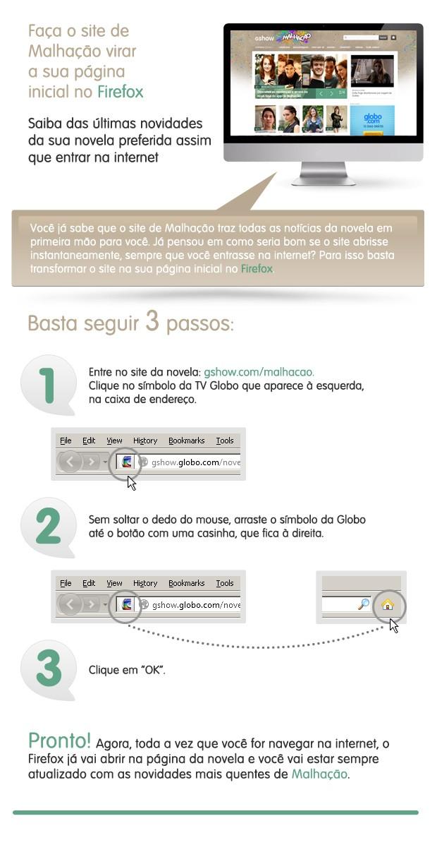 Malhação Firefox (Foto: TV Globo)