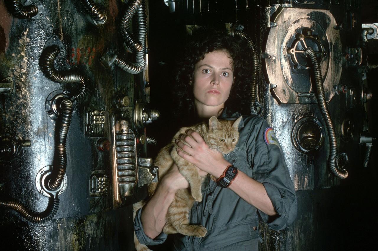 Sigourney Weaver, a tenente Ellen Ripley de 'Alien, o Oitavo Passageiro' (Foto: Divulgação)