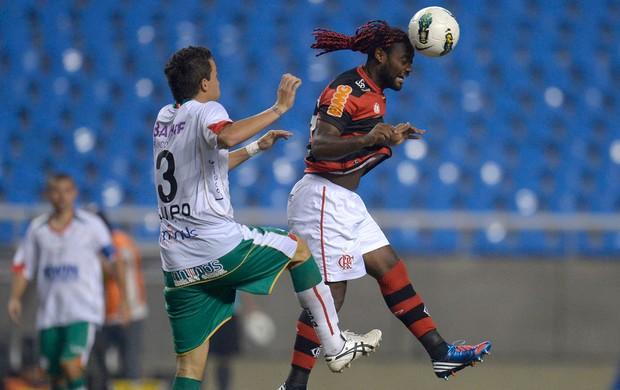Vagner Love Flamengo x Portuguesa (Foto: Alexandre Loureiro / VIPCOMM)