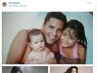Latino dá parabéns para filha Suzanna: 'Apesar de você não acreditar, te amo'
