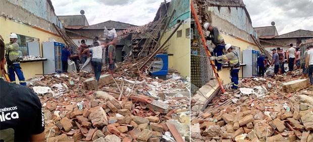 Segundo moradores, padaria havia passado por reformas recentemente (Foto: Fernando Rocha)