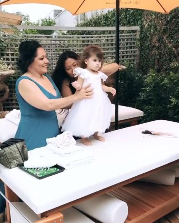 Helena, filha de Rúbia Baricelli e Henrique Tomaz (Foto: Reprodução/Instagram)