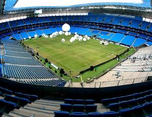 arena Grêmio preparativos inauguração (Foto: Wesley Santos / PressDigital)
