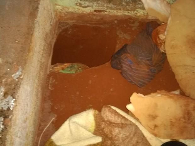 Túnel foi encontrado embaixo de cama em uma cela em Palmeira das Missões, RS (Foto: Divulgação/Susepe)