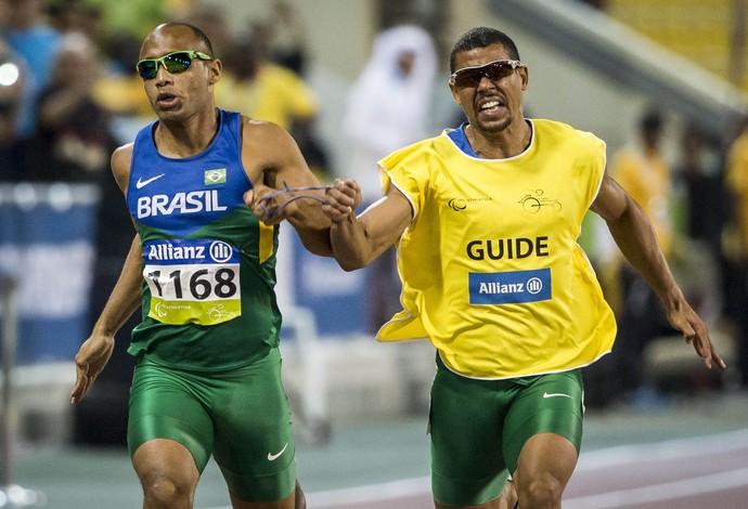 Felipe Gomes tornou-se o segundo homem mais rápido do mundo de sua classe, sendo superado apenas pelo americano David Brown (Foto: Daniel Zappe/CPB)