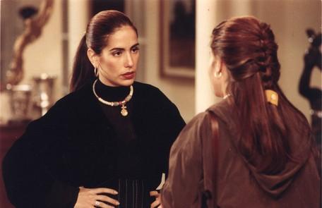 Como as gêmeas Ruth e Raquel em 'Mulheres de areia' Fernando Quevedo