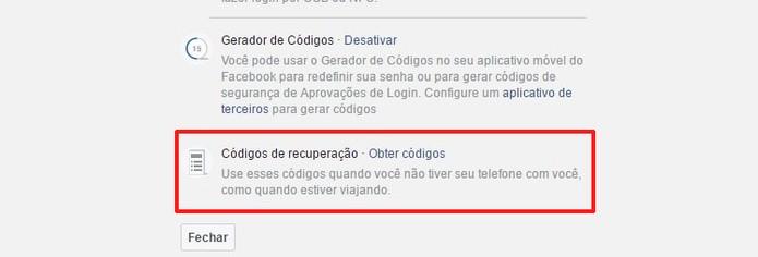 Consiga os códigos de login (Foto: Reprodução/Camila Peres)
