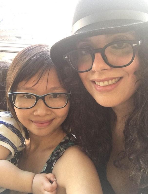 Andrea e Susanna Liang (Foto: Arquivo pessoal)