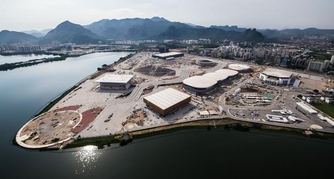 Parque Olímpico da barra ultrapassa 90% de execução (Foto: Renato Sette Câmara/Prefeitura do Rio)