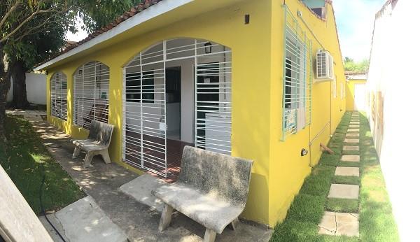 A charmosa casa em Olinda onde fica a pequena Duvália