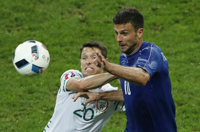 Thiago Motta Itália x Irlanda (Foto: Reuters)