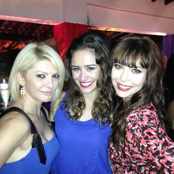 Antônia Fontenelle, Amanda Richter e Simone Soares em festa no Rio (Foto: Instagram/ Reprodução)