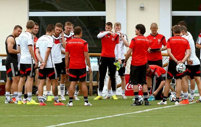 Jogadores alemanha treino (Foto: Agência Reuters)