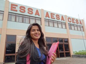 Jovem de Buíque se matriculou em curso de Letras. (Foto: Luna Markman/ G1)