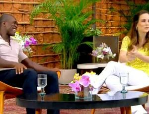 FRAME Seedorf programa Estrelas (Foto: Reprodução / TV Globo)