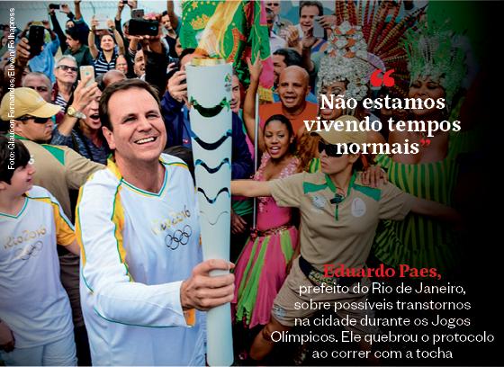 Frases que resumem a semana | Eduardo Paes  (Foto: Glaucon Fernandes/Eleven/Folhapress)