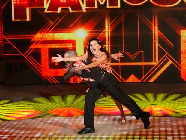 Lucélia Santos foi sucesso no Dança  (Foto: Arthur Seixas / TV Globo)