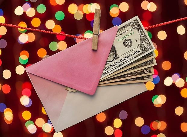 Presente em dinheiro? (Foto: ThinkStockPhotos)