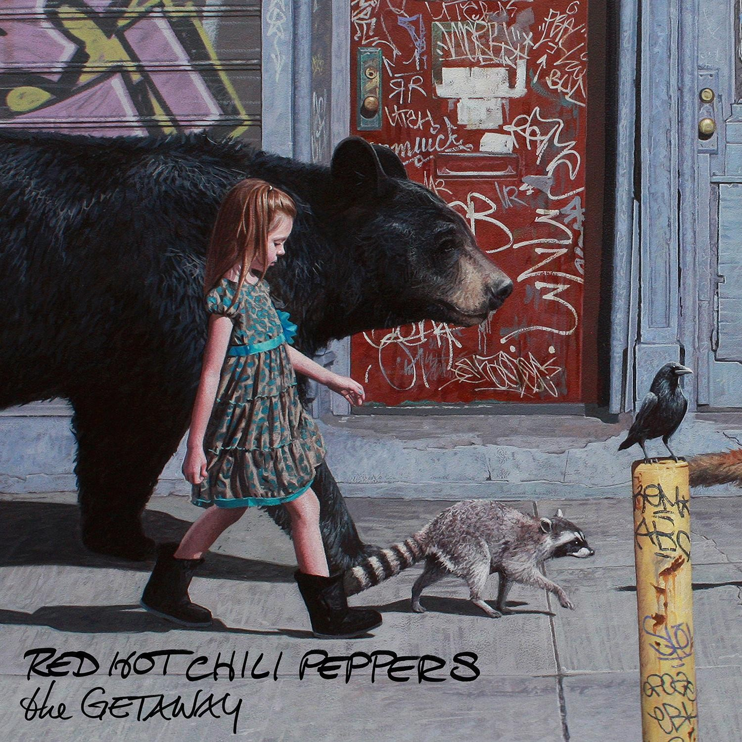 Capa de 'The Getaway', novo disco do Red Hot Chili Peppers (Foto: Divulgao)