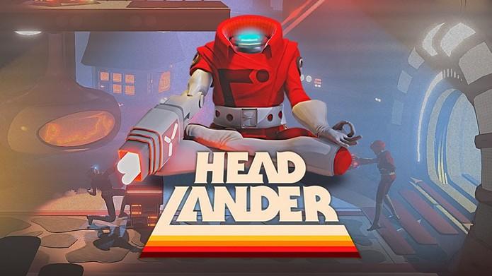 Controle uma cabeça dominando robôs em Headlander (Foto: Divulgação/Double Fine)