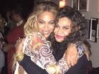 Beyoncé posa com a mãe em festa pós-show em Nova York