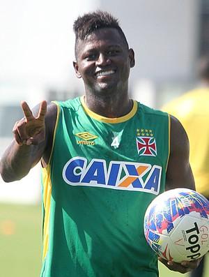 Riascos treino São Januário (Foto: Paulo Fernandes/Vasco.com.br)