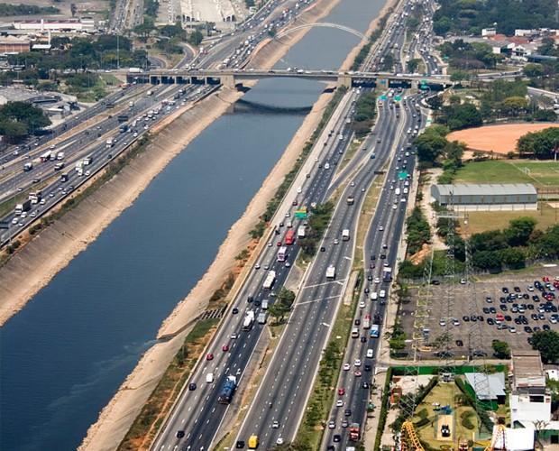 Marginal Tietê: Doria quer expor marcas de empresas que revitalizarem vias expressas (Foto: Divulgação)