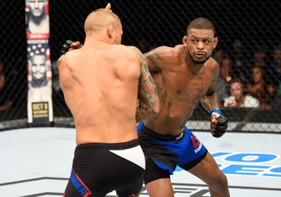 Dustin Poirier x Michael Johnson (Foto: Getty Images)