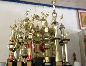 Troféus do Ypiranga Esporte Clube  (Foto: Ypiranga Esporte Clube/ arquivo pessoal )