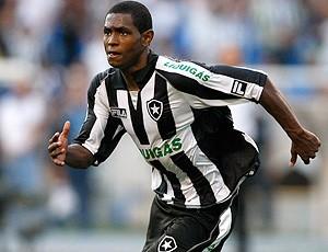 Jobson jogando pelo Botafogo (Foto: Agência Estado)