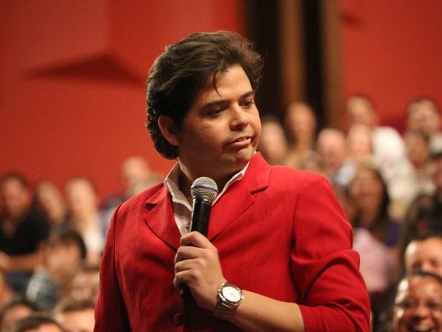 O ator e humorista Gustavo Mendes (Foto: Divulgação)