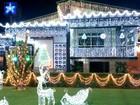 Família do Amapá decora a casa inteira com luzes e enfeites de Natal
