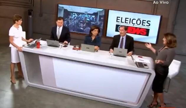 Central das eleições (Foto: Reprodução)