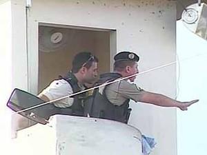 Detentos fazem rebelião em presídio e mantêm reféns em Ituiutaba, MG (Foto: Reprodução/TV Integração)