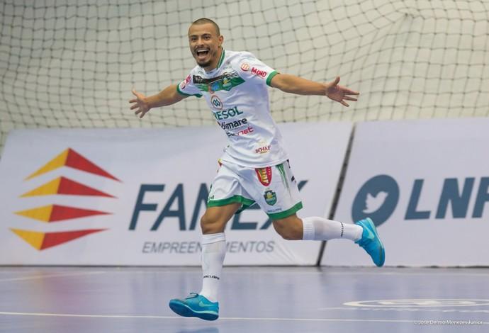 Barbosinha Pato x Marreco liga nacional de futsal (Foto: José Delmo Menezes Junior/Divulgação)